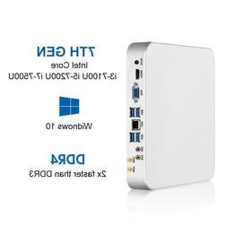 Mini PC i7-7500U i5-7200U i3-7100U 8GB DDR4 240G SSD Windows