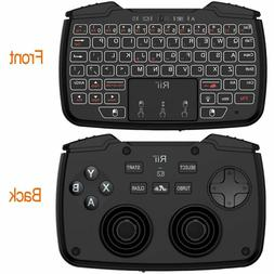 Mini Wireless Gaming Keyboard With Touchpad Game Controller