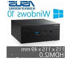 ASUS MiniPC PN61-B5005ZD Win10  i5-8265U 1.60GHz HDMI DP USB