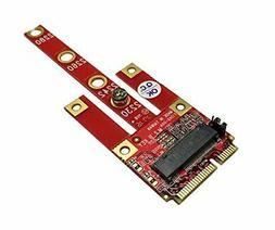 Ableconn MPEX-134B Mini PCIe Adapter with M.2 Key B Slot -