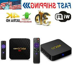 MX10 PRO TV Box Android 9.0 H6 Media Player 6K 32GB/64GB WiF