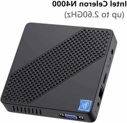 N40 Mini PC Intel Celeron N4000 Mini Computer Windows 10 DDR