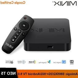 MINIX Neo T5 Android TV 9.0 Mini PC Smart Box Wireless Strea