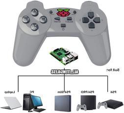 2.4ghz Wireless USB Controller 4 PlayStation PS Mini Raspber