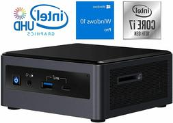 Intel NUC10i7FNH Mini PC, Intel Core i7-10710U Upto 4.7GHz,