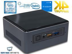 nuc7i7bnh mini pc core i7 7567u 4gb