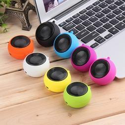 Mini Portable Speaker HI-FI Battery MP3 Player Cell Phone Ta
