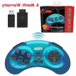 Retro-Bit 2.4 GHz Wireless Controller 8-Button Sega Genesis