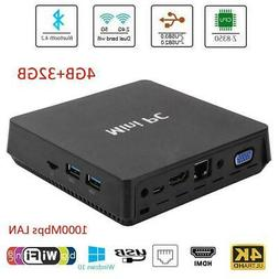 T11 PLUS 4K Mini PC Win10 Professional 4G RAM 32G ROM HDMI W