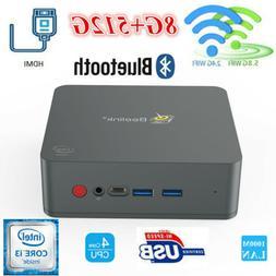 Beelink U55 Mini PC 8G+512G 1000Mbps Intel i3-5005U BT Dual