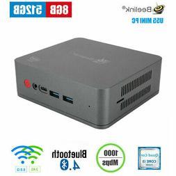 Beelink U55 Mini PC Computer i3-5005U 8GB DDR3L RAM RJ45 100