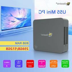 Beelink U55 Smart 4K Mini PC 8G+256G/8G+512G 1000M BT4.0 Dua