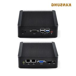 Ubuntu Mini PC J1900 CPU Quad Core 2 Lan 4 USB Firewall X86