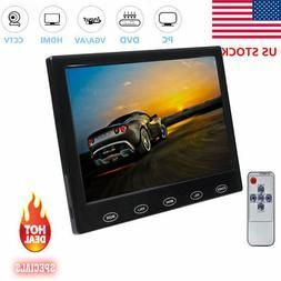 "Mini 7"" LCD CCTV Monitor HD PC Screen HDMI VGA AV RCA 1080p"