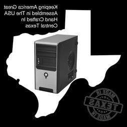 USA Made Custom PC Desktop Mini Tower Entry Mid-range 9'th G