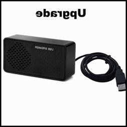 USB Mini Speaker Computer Powered Stereo Multimedia For Note