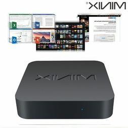 MINIX NEO J50C-4 Mini PC Small Desktop Computer Wireless Med