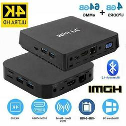 W8 PRO/T11 PLUS Fast Cheap Mini PC Desktop LPDDR3 4GB 64GB f