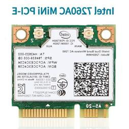 Intel Wireless-AC 7260HMW Mini PCI-E Network Card Dual Band